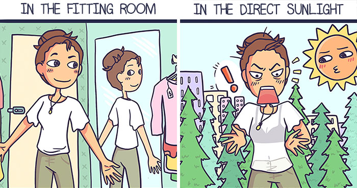 I Show The Weirdness Of My Life Through My 30 Comics
