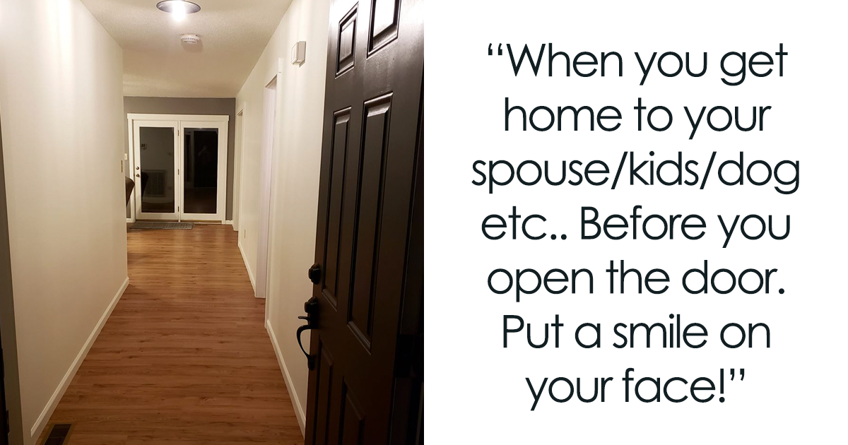 Man Shares How Important It Is To Smile When You Get Back Home