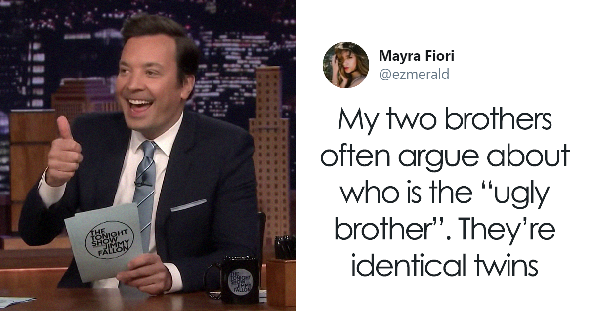 Jimmy Fallon Asks His Followers To Tweet Their Dumbest Family Fights, And They Deliver (52 Tweets)