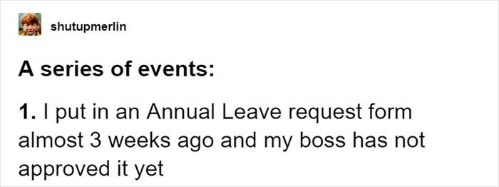 Woman Finds Her Annual Leave Request Unapproved For 3 Weeks, Puts The Form In Boss's Kids Photo Frame