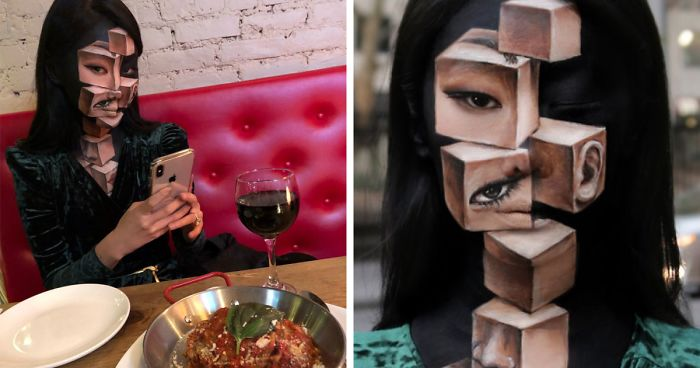 What This Artist Does To Her Face Seriously Messes With People's Mind (54 New Pics)
