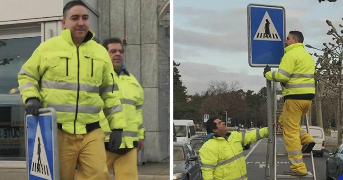 Geneva Permanently 'Feminizes' Half Of Its Traffic Signs