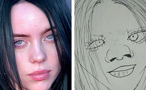 These Funnily Terrible Portraits Of Famous People Drawn By This 'Artist' Are Awfully 'Accurate' (38 Pics)