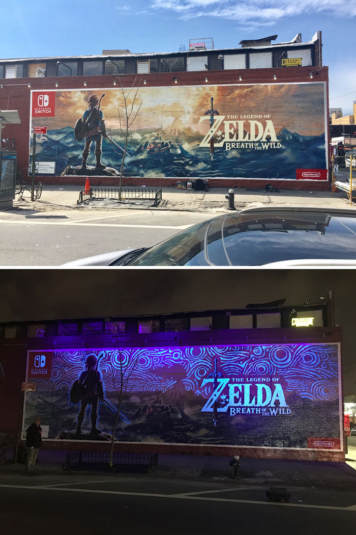 Sick Legend Of Zelda Street Art