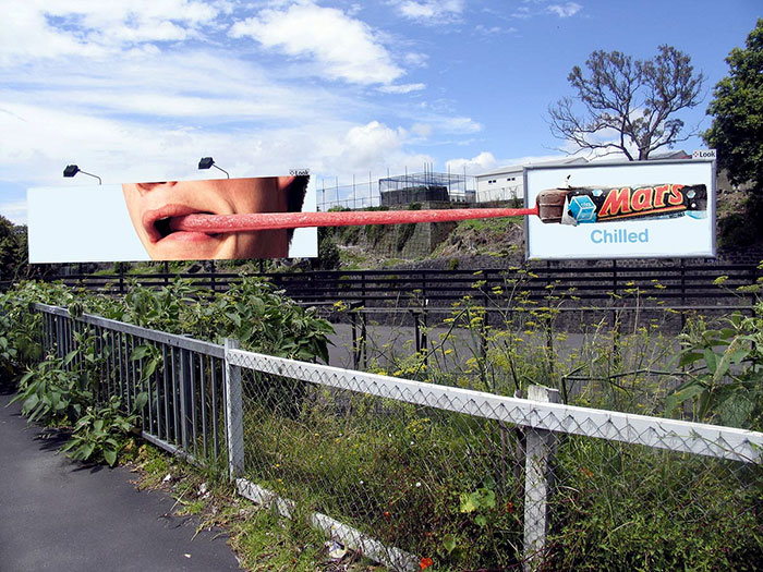 Chilled Mars Billboard