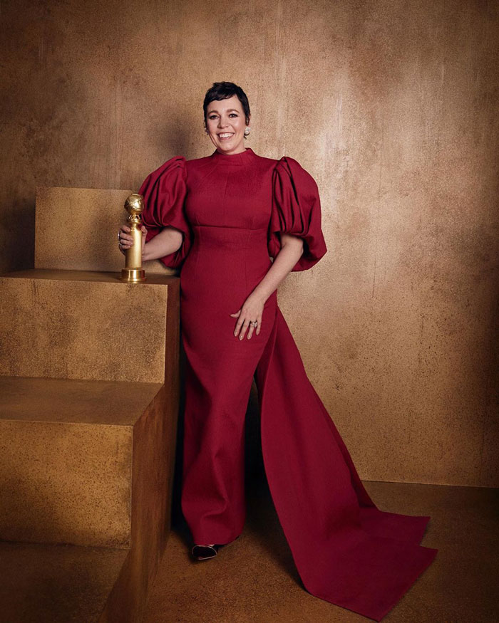 """Olivia Colman, Best Performance By An Actress In A Television Series, Drama, """"The Crown"""""""