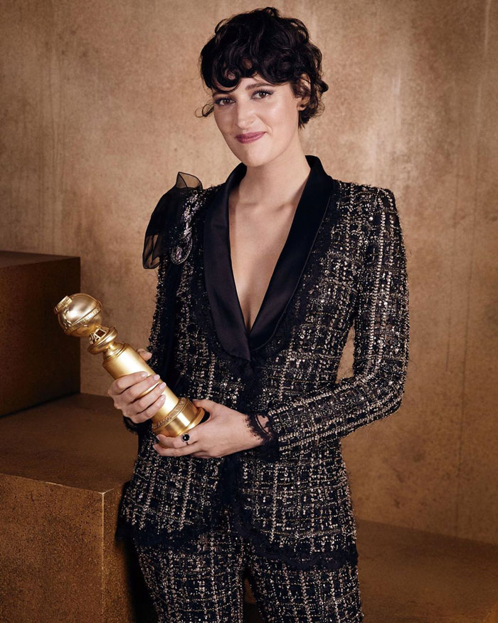 """Phoebe Waller-Bridge, Best Performance By An Actress In A Television Series, Musical Or Comedy, """"Fleabag"""""""
