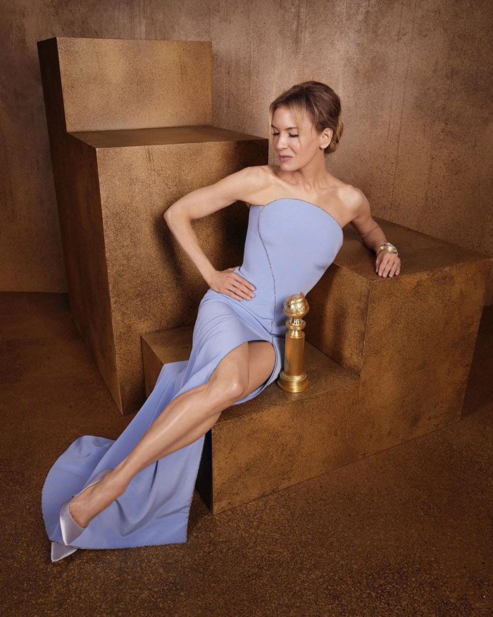 """Renée Zellweger, Best Performance By An Actress In A Motion Picture, Drama, """"Judy"""""""