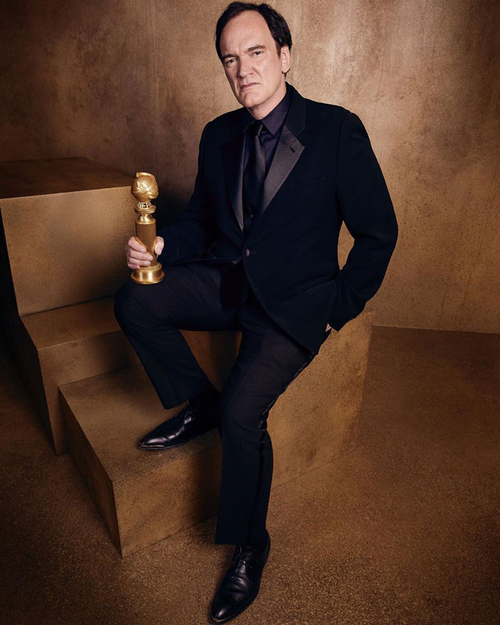 """Quentin Tarantino, Best Screenplay, Motion Picture, """"Once Upon A Time... In Hollywood"""""""