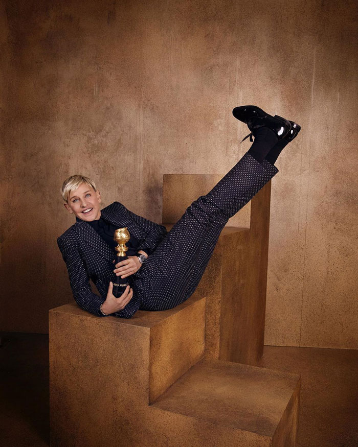 Ellen Degeneres, Recipient Of The Carol Burnett Award