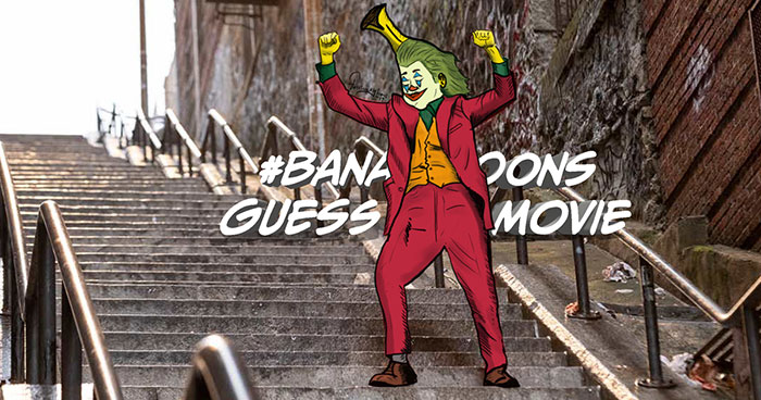 My 'Guess The Movie' Quiz With Funny Bananas (77 Pics)