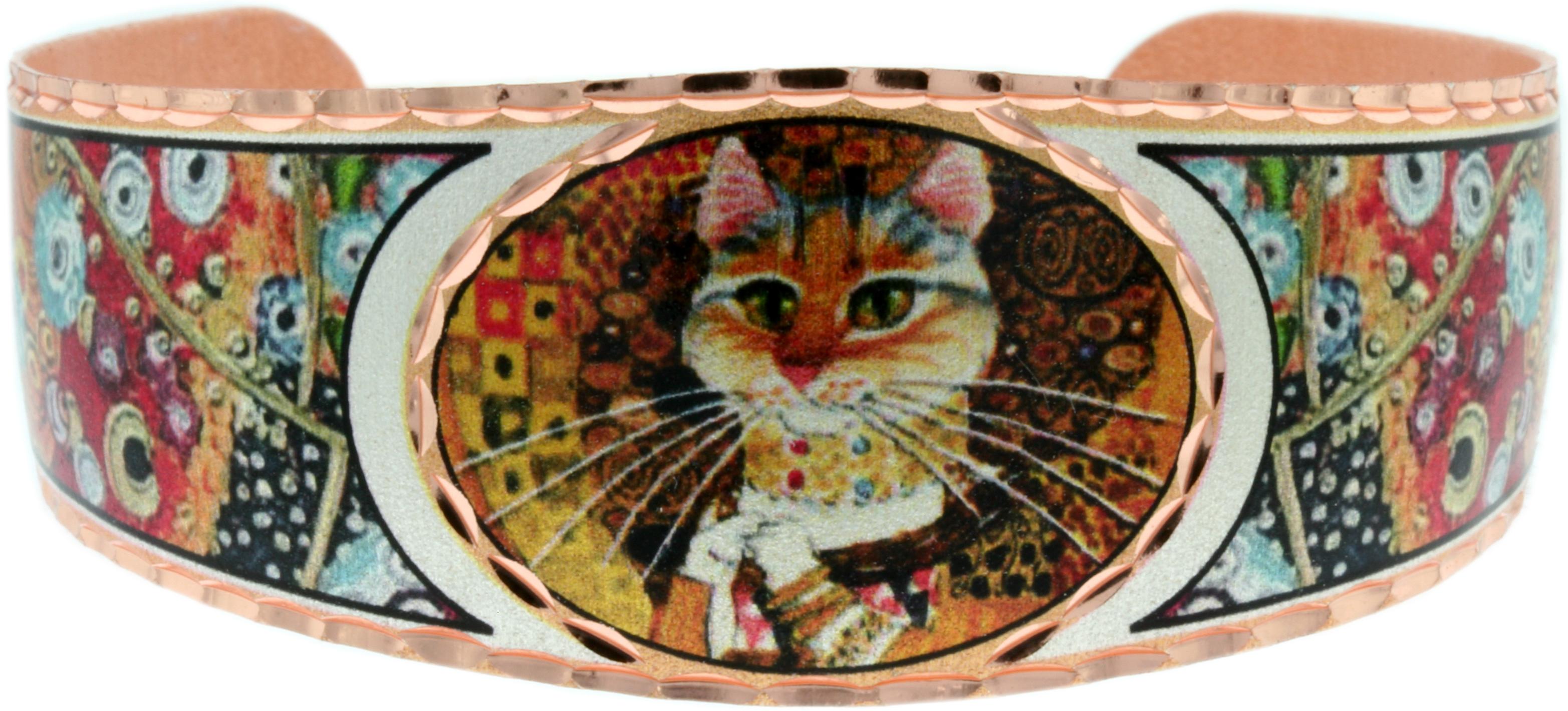 Art Jewelry Inspired By Gustav Klimt's Famous Paintings