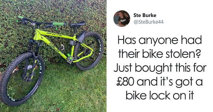 After Noticing A Stolen $1,760 Bike For Sale, This Man Buys It For $104 And Asks For Twitter's Help To Locate The Owner