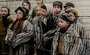 I Colourised 10 Photos To Show The True Horror Of The Holocaust