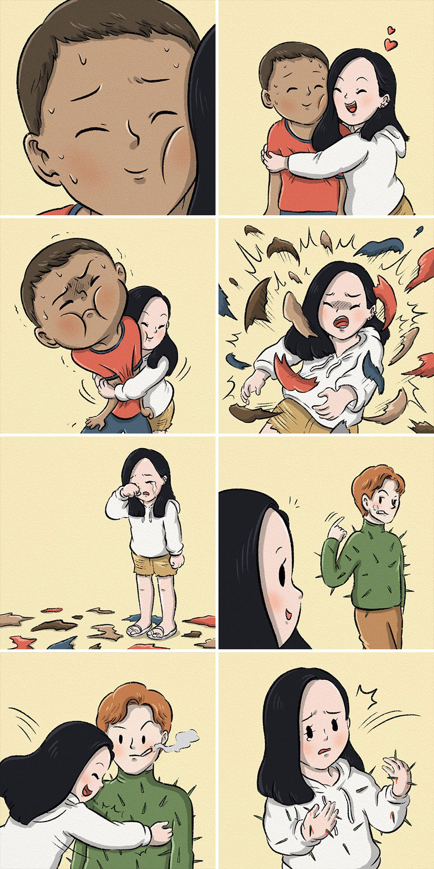 Thai Illustrator Makes Colorful Comics That Take Unexpected Turns And Here Are 18 Of The Best Ones