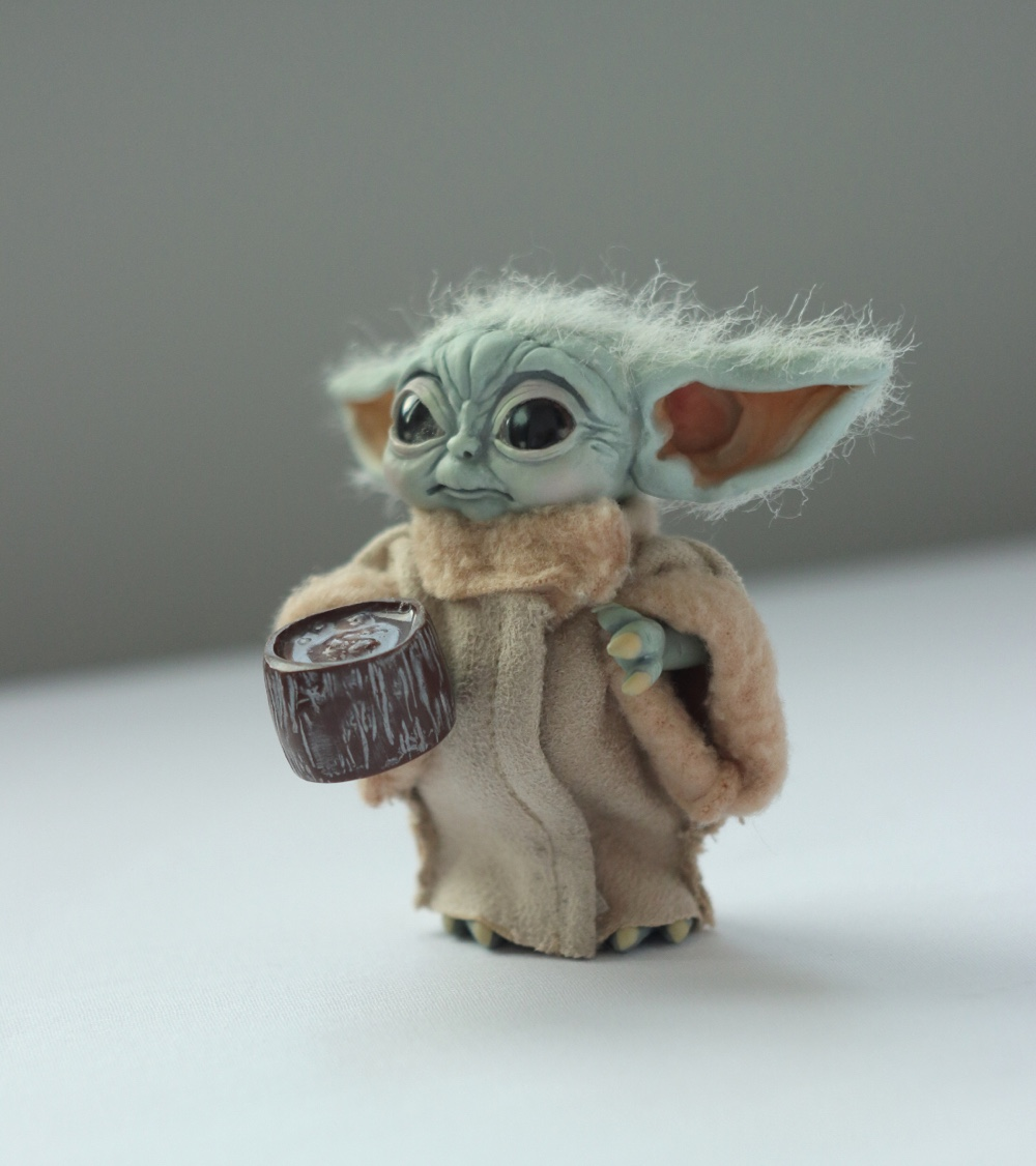 I Made Tiny Baby Yoda For My Daughter