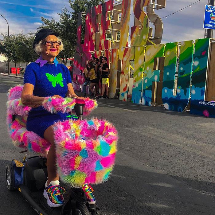92-Year-Old Grandma Baddie Winkle Is The Most Stylish Bad