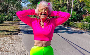 60 Photos Of Instagram's Most Stylish 92 Y.O. Grandma Baddie Winkle