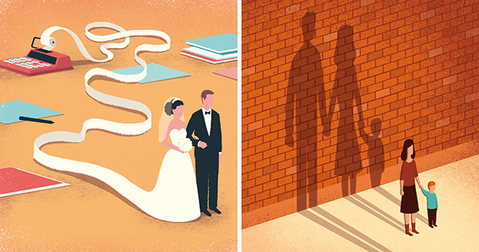 30 Thought-Provoking Digital Illustrations That Expose The Flaws Of Our Modern Society