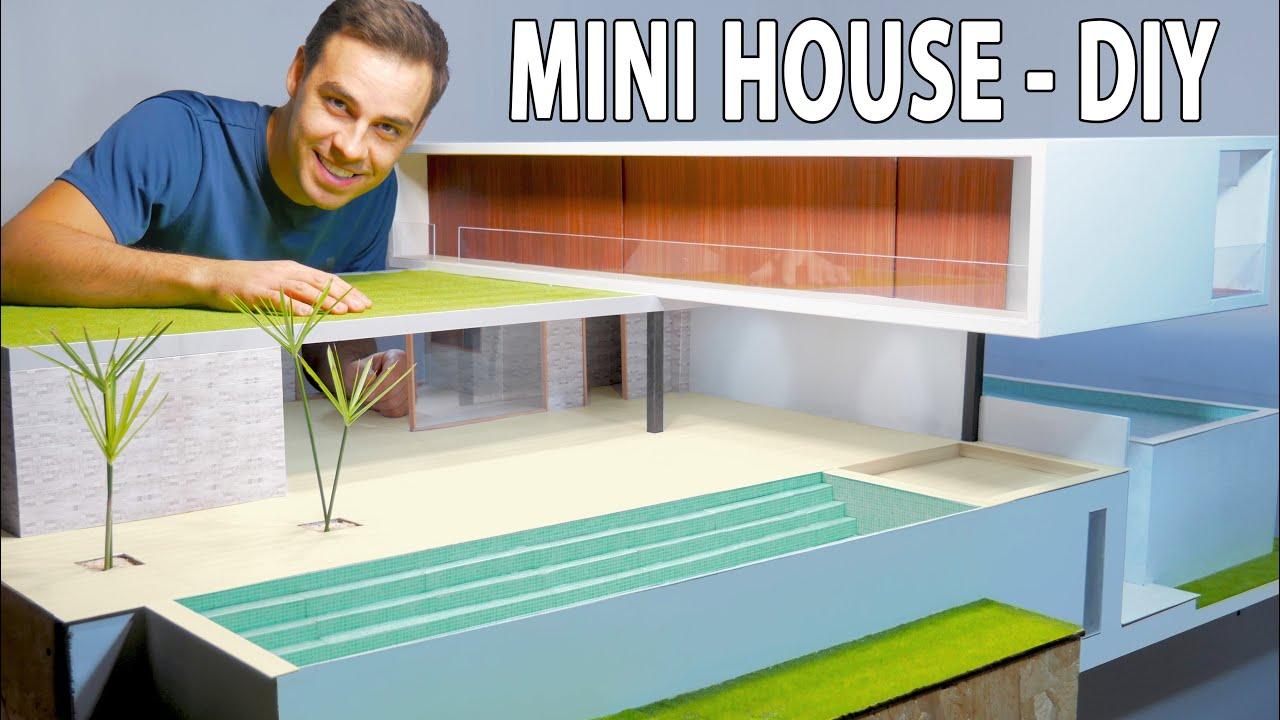 Mini House – How To Make Real Luxury House – DIY