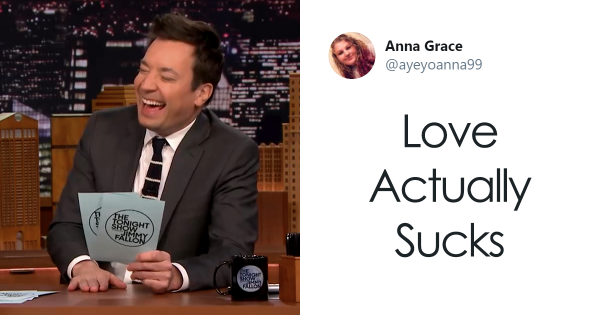 """Jimmy Fallon Asks Twitter To """"Ruin A Movie With One Word"""" And Here Are The 55 Best Tweets"""