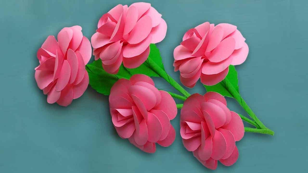 Paper Rose Flower