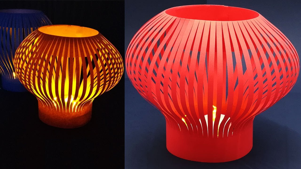 Lantern Making Easy Tutorial At Home