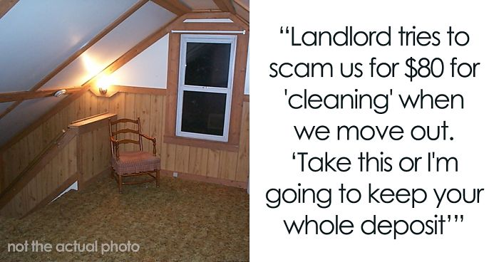Landlord Tries To Get Tenant To Pay $80 Cleaning Fee For Nothing, Ends Up Paying $6,000