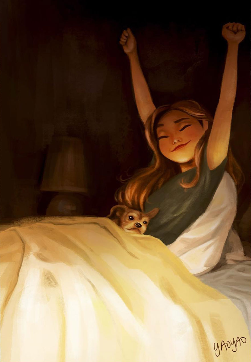 Live-With-Dog-Illustrations-Yaoyaomva