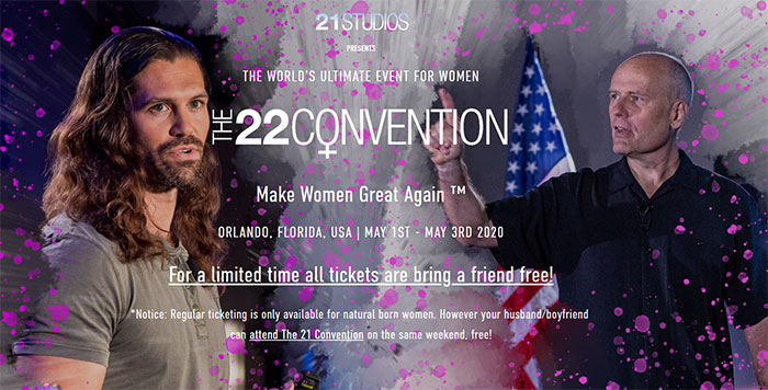 $2,000 Tickets And All-Male Speakers: The 'Make Women Great Again' Convention Is Causing Outrage On The Internet
