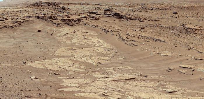 Differential Erosion At Work On Martian Sandstones