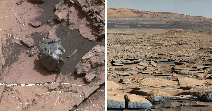 La misión Curiosity de la NASA lleva más de 7 años en Marte, y aquí están 30 de sus mejores fotos