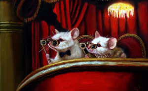 Artist Places Mice In Human Situations In Her 60 Illustrations