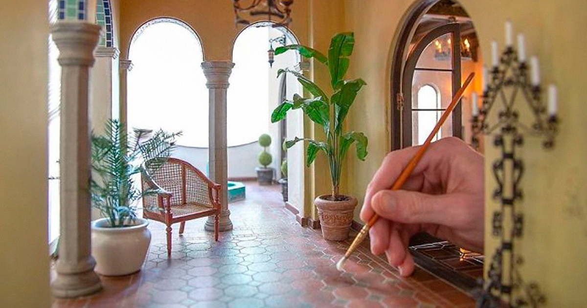 50 Pics Of Historic Building Interiors By Professional Miniature Artist Chris Toledo