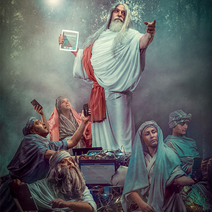 I Wanted To Show You How Religion Based On Technology Would Look