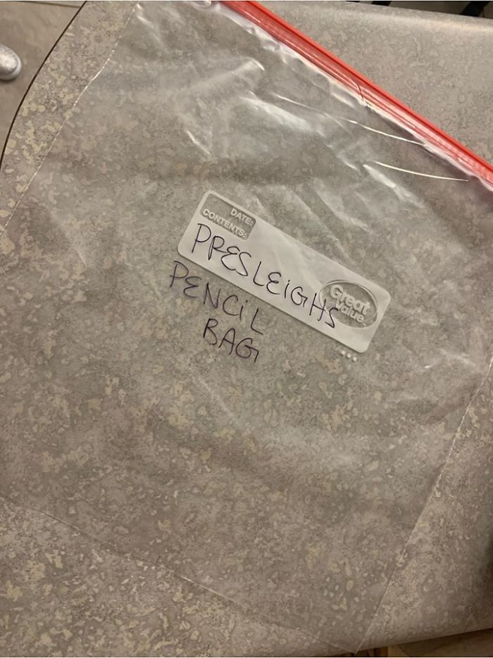 Ungrateful Girl Throws Pencil Case Mom Bought Her In The Trash, Learns A Lesson When Mom Replaces It With A Ziploc Bag