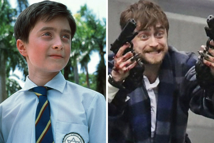 Daniel Radcliffe: The Tailor Of Panama (2001) - Guns Akimbo (2019)