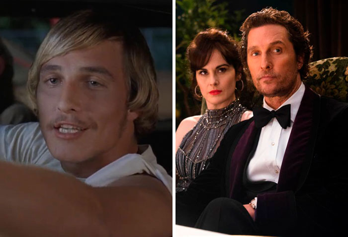 Matthew Mcconaughey: Dazed And Confused (1993) — The Gentlemen (2020)