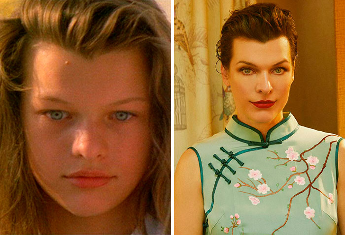 Milla Jovovich: Two Moon Junction (1988) — The Rookies (2019)