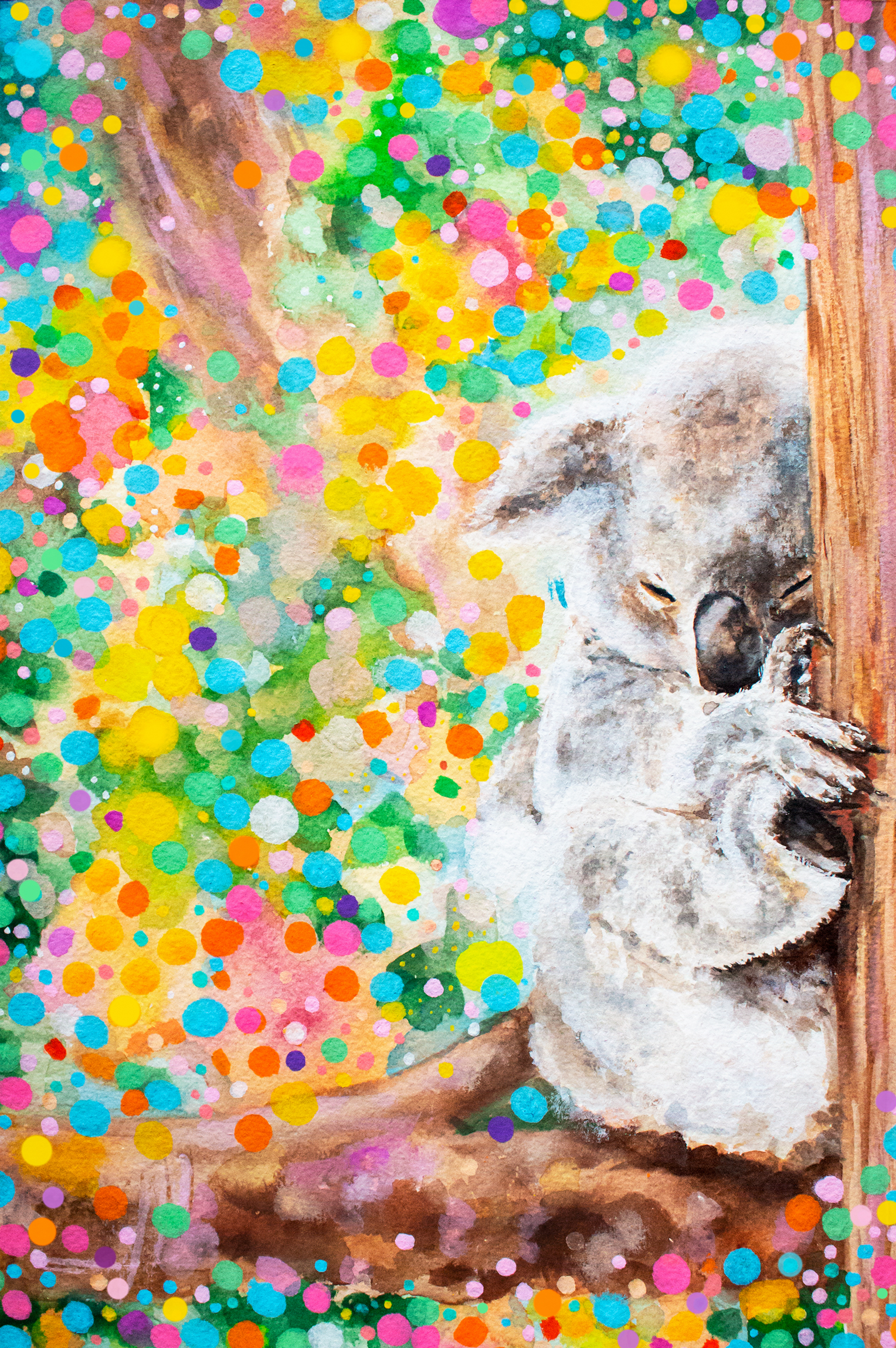 'dreaming Of Better Days' All Proceeds From This Art Print Goes To Bushfire-Affected Wildlife.
