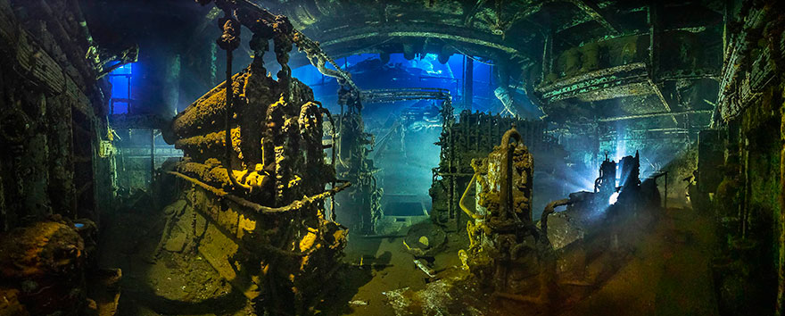 """2nd Place - Tobias Friedrich - Wide-Angle Category - """"The Engine"""""""