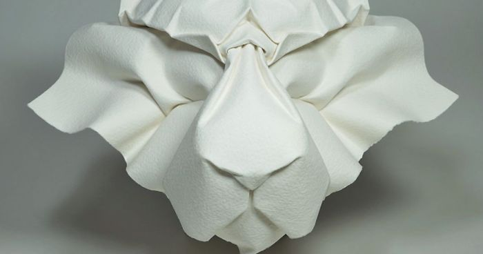 Origami Stackable Panda Folding Instructions | Origami Instruction | 368x700