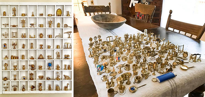 Brass Miniatures, All Thrifted. I Think I Have The Whole Collection