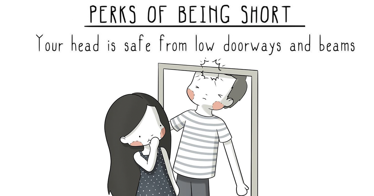 15 Perks Of Being Short By Three Under The Rain