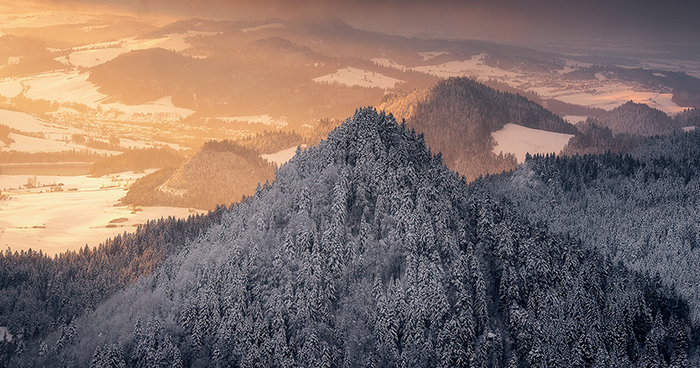 I Visited Three Crowns In The Polish Pieniny Mountains With A Magical Winter Scenery