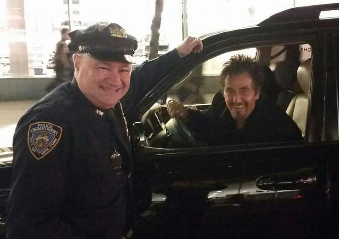 I Was Lucky Enough To Pull Over Al Pacino