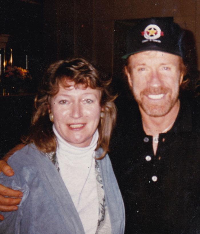 My Grandmother Was An Interpreter For Chuck Norris