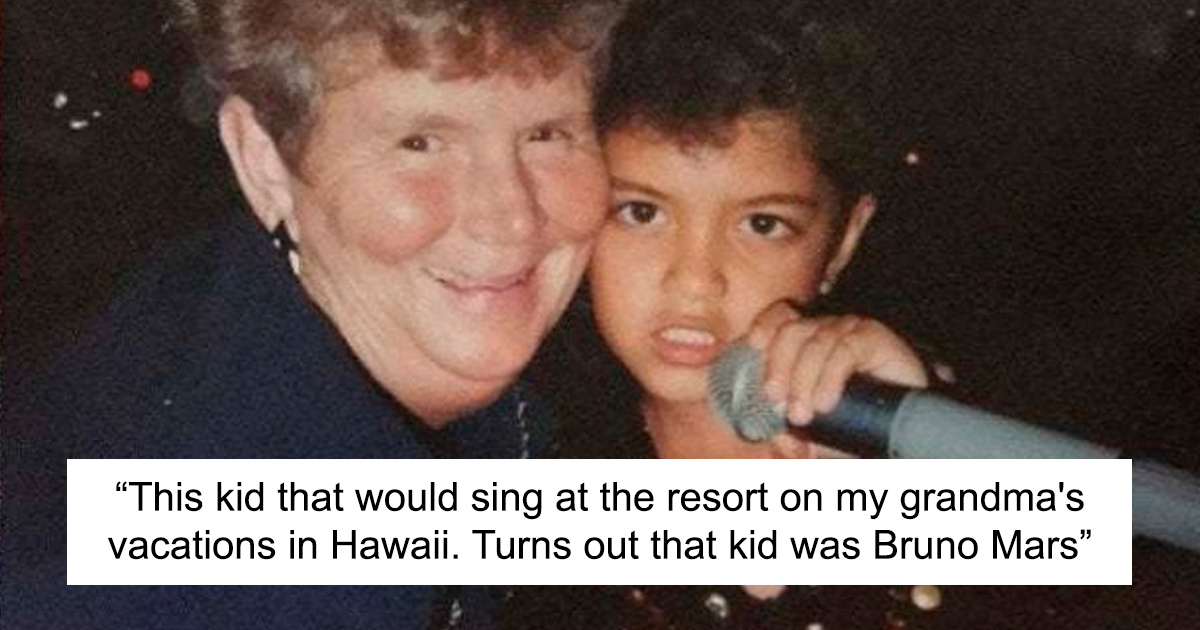 29 Celebrity Encounters That People Found Old Photos Of And Decided To Share