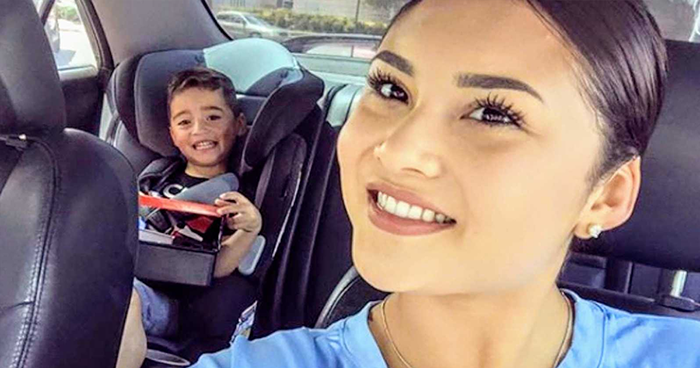 Mom Struggles To Buy A Slice Of Birthday Cake For Her Son, This Woman Gets Her Target And Gas Gift Cards