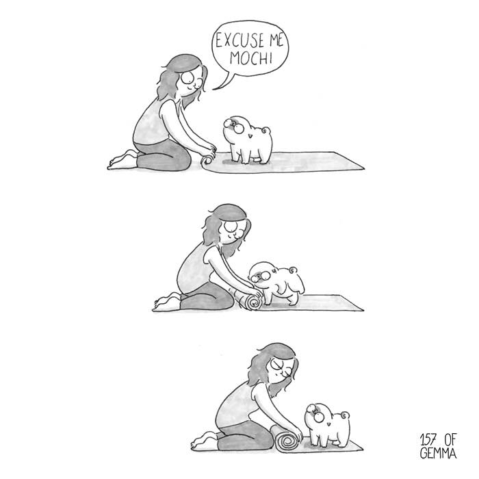 """Living With My Pug Mochi"""